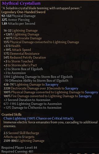 crystallum update