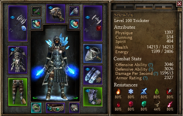 1 1 2 5] Korba's DW Cold Trickster (HC+Ravager) - Classes