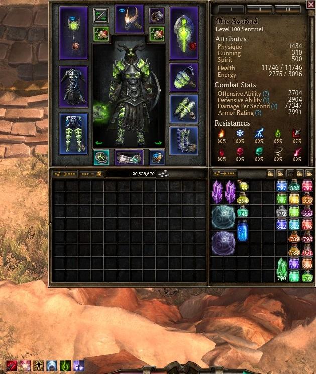 Grim Dawn Warlord Build