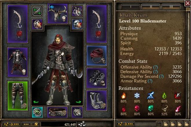 1 1 3 1] Non set DW Pierce Blademaster - Classes, Skills and Builds